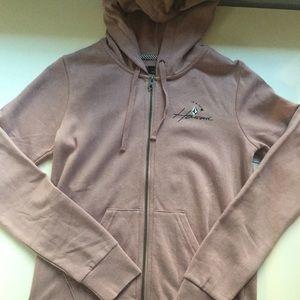 VOLCOM pink hawaii hoodie NWT